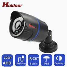 Buy HD AHD 720P 1.0MP Bullet Camera CCTV Indoor IP65 Waterproof Bullet Security 24 IR Night Vision Brack Security camera System for $14.24 in AliExpress store