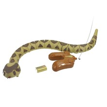 Buy Infrared Remote Control snake Electric Wireless Simulation RC Electric Rattle python cobra snake creativity gifts toys P3 for $33.75 in AliExpress store