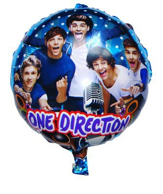One Direction Balloons for birthday party baloons , globos party bexigas para festas aniversario(China (Mainland))