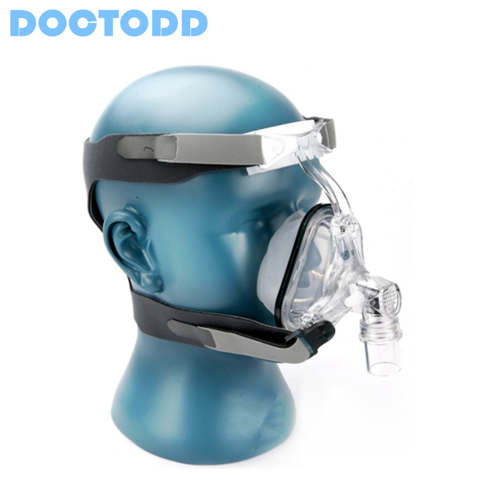 Doctodd NM1 Nasal Mask With Headgear For CPAP Auto CPAP APAP Bipap BPAP Respirator Sleep Snoring Therapy Size(S/M/L)(China (Mainland))