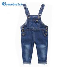 Grandwish New Kids Denim Jumpsuit Children Overalls Jeans Pants Boys and Girls Casual Jeans Pants 18M-10T, SC141(China (Mainland))