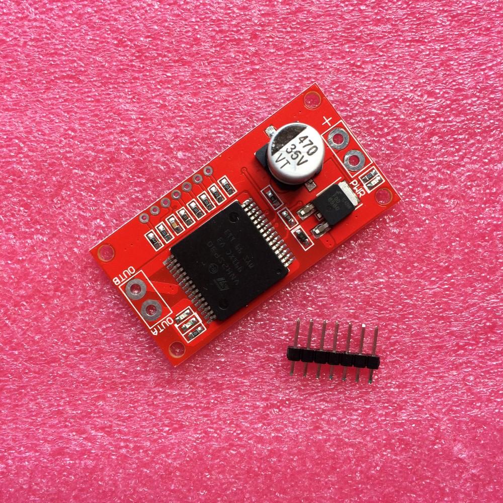 10pcs/lot 30A Mini VNH2SP30 Driver Monster Moto Shield module For Arduino