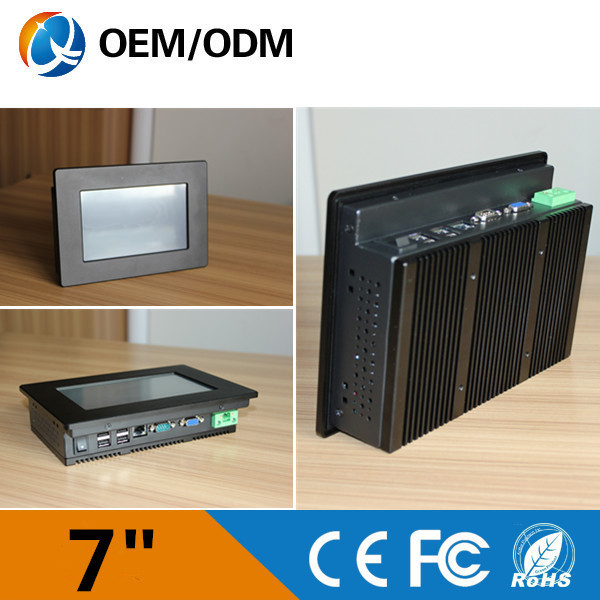 QYT touch screen tablet pc computers 7 inch industrial pc embedded pc mini pc with good quality(China (Mainland))