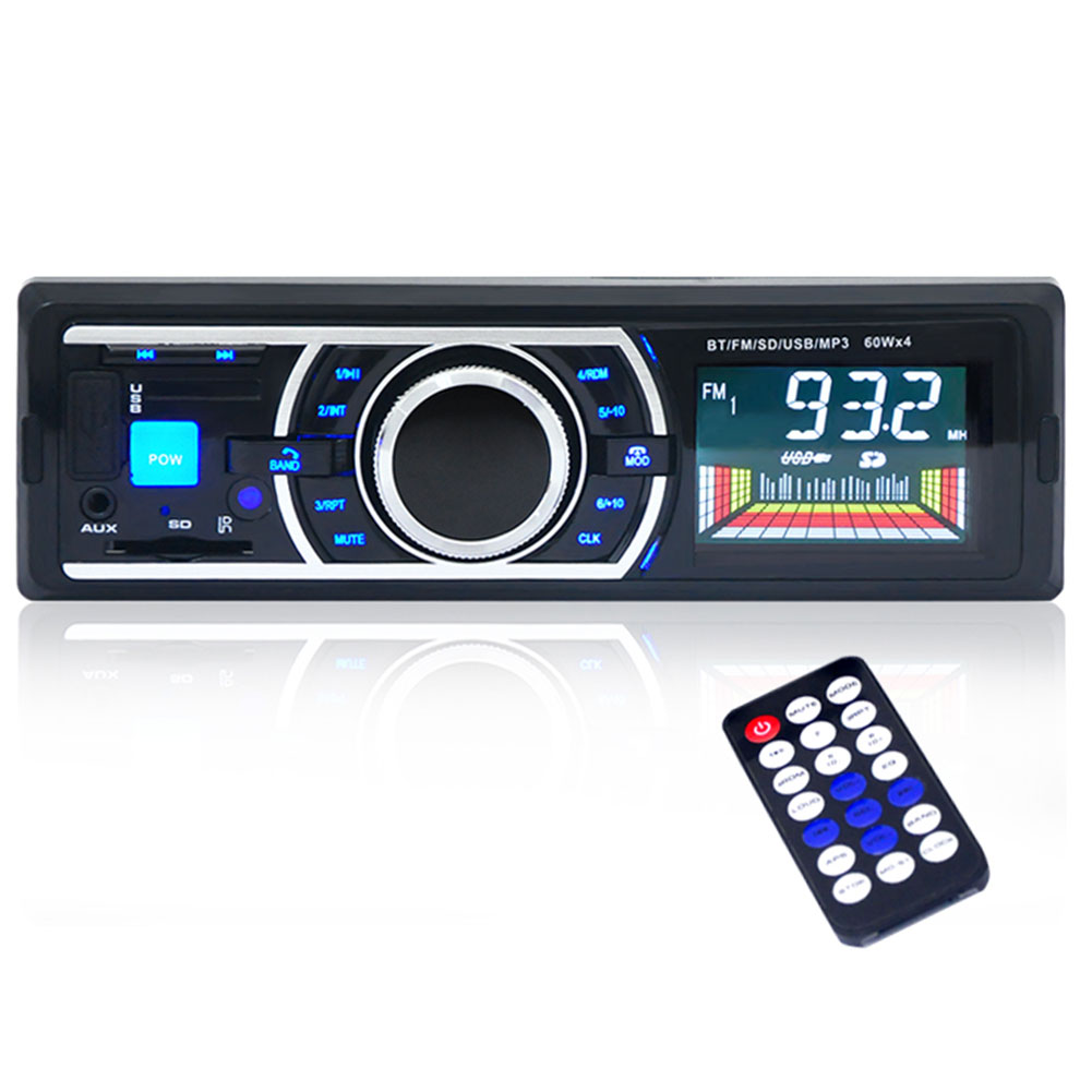 Bluetooth Car Auto 12V MP3 FM Radio Audio Stereo Player 1 DIN In-Dash 6203(China (Mainland))