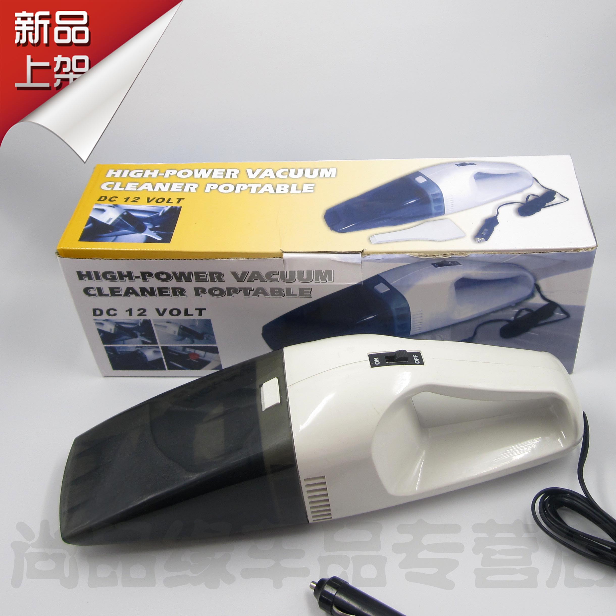 Car small vacuum cleaner super suction high power 60w car vacuum cleaner wet and dry car vacuum cleaner(China (Mainland))
