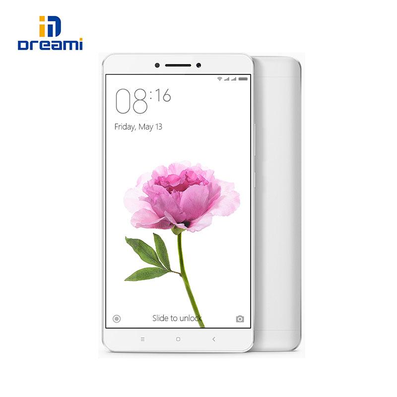 "Original Xiaomi Mi Max Snapdragon 650 Hexa Core 4850mAh 6.44"" 1920x1080P Mobile Phone 16MP PDAF 3GB RAM 32GB ROM Fingerprint ID(Hong Kong)"
