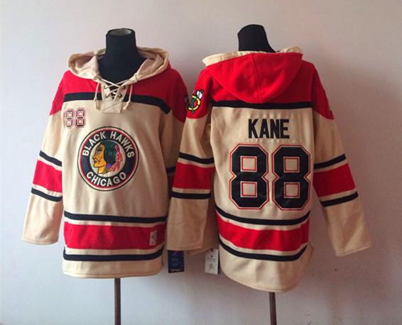 Christmas gift! 2015 Free Shipp Chicago Blackhawks Cheap Ice Hockey Jersey Hoodie #88 Patrick kane Hockey Hoodies/ Hooded Sweats