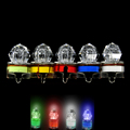 Underwater 1000m LED Lures Bait Fishing Light 5 Colors Submersible Signal Lamps