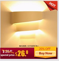 Modern LED Wall Lamps Bedside Wall lamp wall Sconces lighting LED mirror Acrylic Wall Lamps American Country apliques pared