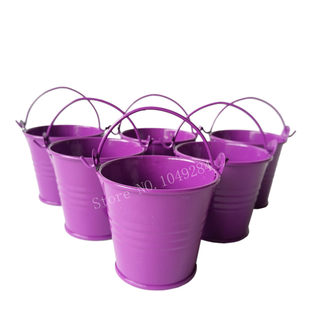 Small metal buckets promotion shop for promotional small for Small pail buckets