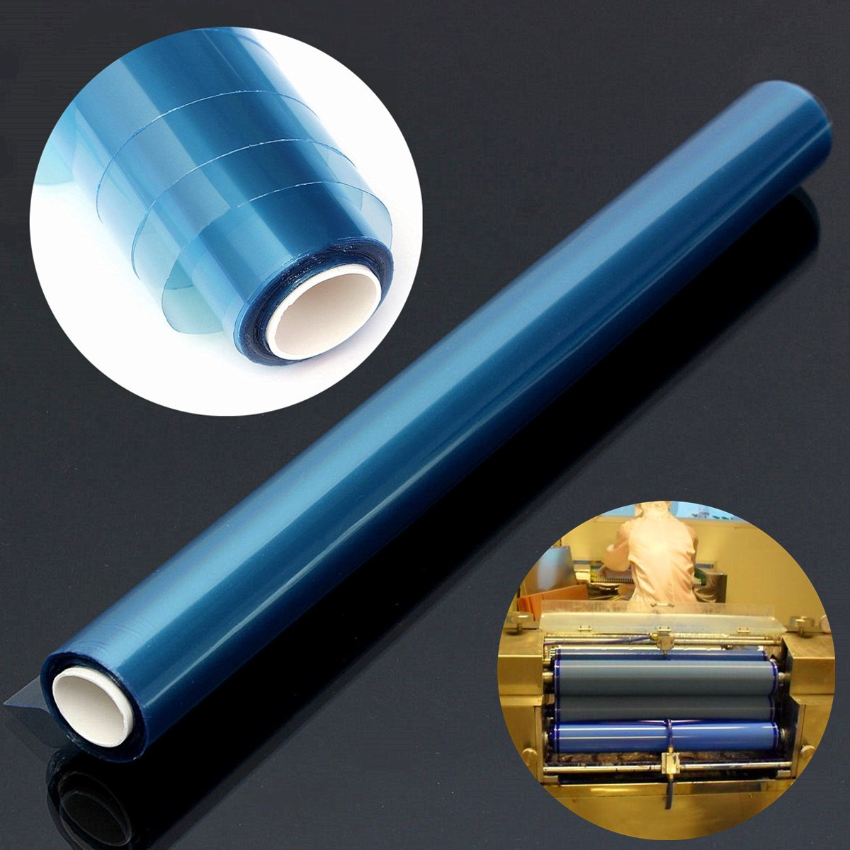 PCB Photosensitive Dry Film for Circuit Production Photoresist Sheets 30cm x 5m(China (Mainland))