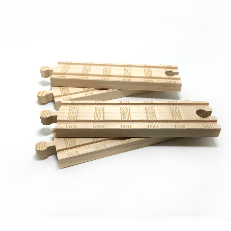 P055 railroad tracks are beautifully designed with large rails that are compatible with Thomas Wooden Rail trains(China (Mainland))