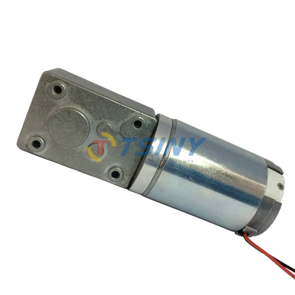 Buy 12v 80rpm high torque worm motor for Worm gear drive motor