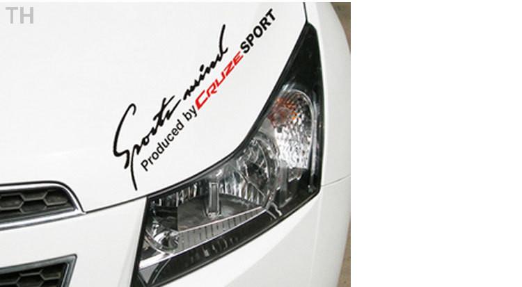 35*14cm Diy Auto Corolla Vw Golf 7 Mazda Cx 5 Opel Astra J Sticker bomb Cruze Sport mind Car Styling toyota prius(China (Mainland))