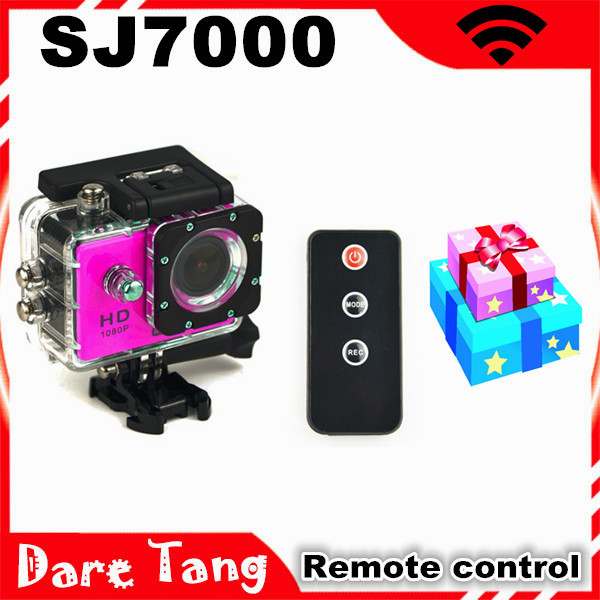 WiFi Action Camera SJ7000 Gopro Style 1080P Full HD Helmet DV Camcorder 30M Waterproof Diving Sport Camera Remote Control New
