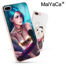 LOL League of Legends Ouro MaiYaCa Pontapé Policial Novo caso de telefone Moda para iphone 11 pro 8 7 66S Plus X 5S SE XR XS XS MAX(China)