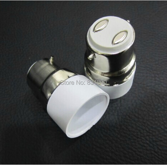 5 unid led sostenedor de la lámpara B22 a E14 ignífugo Socket titulares base para E14 lámparas luces de bulbo titular Freeshiping(China (Mainland))