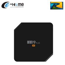 M9 Plus Europa Royal Android5.1.1 IPTV Súper IPTV Smart TV Caja Amlogic S905 2GB16GB WiFi Bluetooth Airplay Miracast Media Player