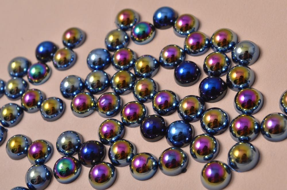 1 Pack 2mm-5mm Fancy Black Pearl Nail Art Stickers Tips Decoration Glitter Nail Rhinestone Decoration Tools(China (Mainland))