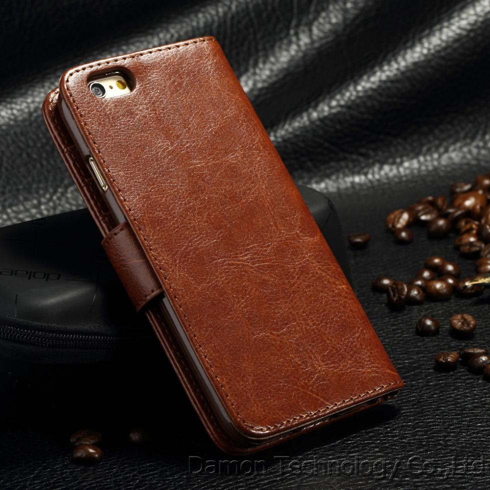 High Quality Newest wallet Leather Cover Cases For Apple iPhone 4 4S Luxury Flip Bags Case For iPhone4 4S 4G On Sale
