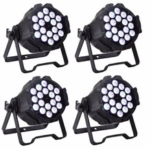 Buy 4xlot Whlesales 18*10W 4in1 RGBW Led Par Can Stage Lights High Power DMX512 DJ Disco Equipments Effect Strobe Laser Lighting for $242.25 in AliExpress store