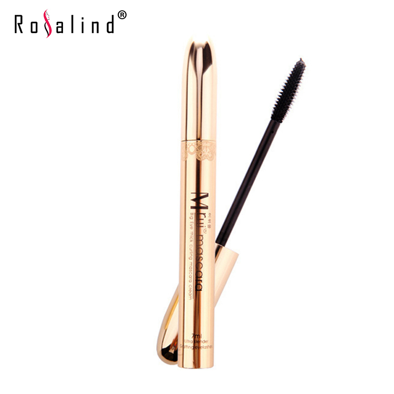 Rosalind Golden Black Mascara Waterproof Curling Cosmetic Mascara Long Eyelash Hot SALE Beauty mc Makeup(China (Mainland))