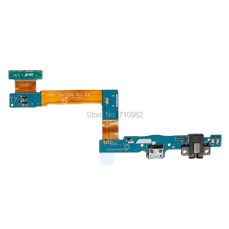 10 pieces/lot Free shipping OEM Charging Port Flex Cable for Samsung Galaxy Tab A & S Pen SM-P550 WiFi Version(China (Mainland))