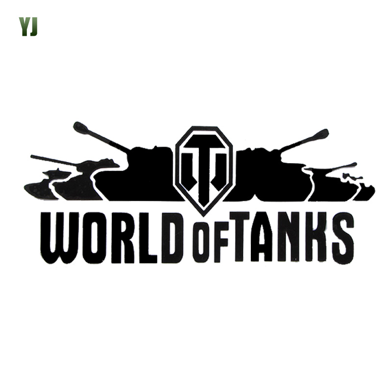 20*8CM WORLD OF TANKS Off-Road Vehicle Sports Car Stickers Reflective Car Stickers Filigree Tank Body CT-396<br><br>Aliexpress