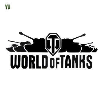 20*8CM WORLD OF TANKS Off-Road Vehicle Sports Car Stickers Reflective Car Stickers Filigree Tank Body CT-396