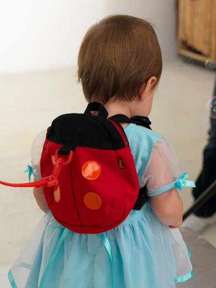 -1Harness buddy(Ladybug&Bat)/Baby Carrier Backpack Harness anti-lost strap/Baby Safty Harness/Toddler