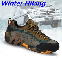 women men outdoor hiking shoes waterproof hunting trekking outventure athletic genuine leather climbing sneakers shoes hs37075