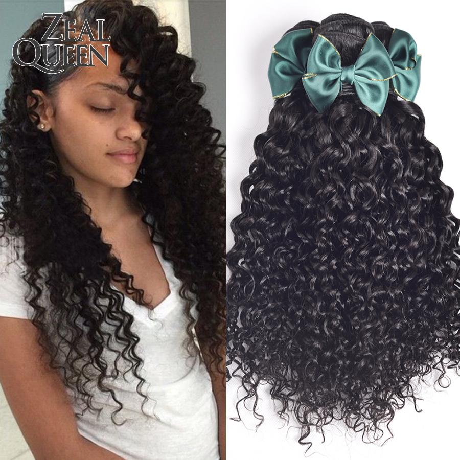 6A Queen Hair Brazilian Water Wave Human Hair Extension 3Pcs/Lot Brazilian Curly Virgin Hair Free Tangle Brazilian Hair Bundles<br><br>Aliexpress