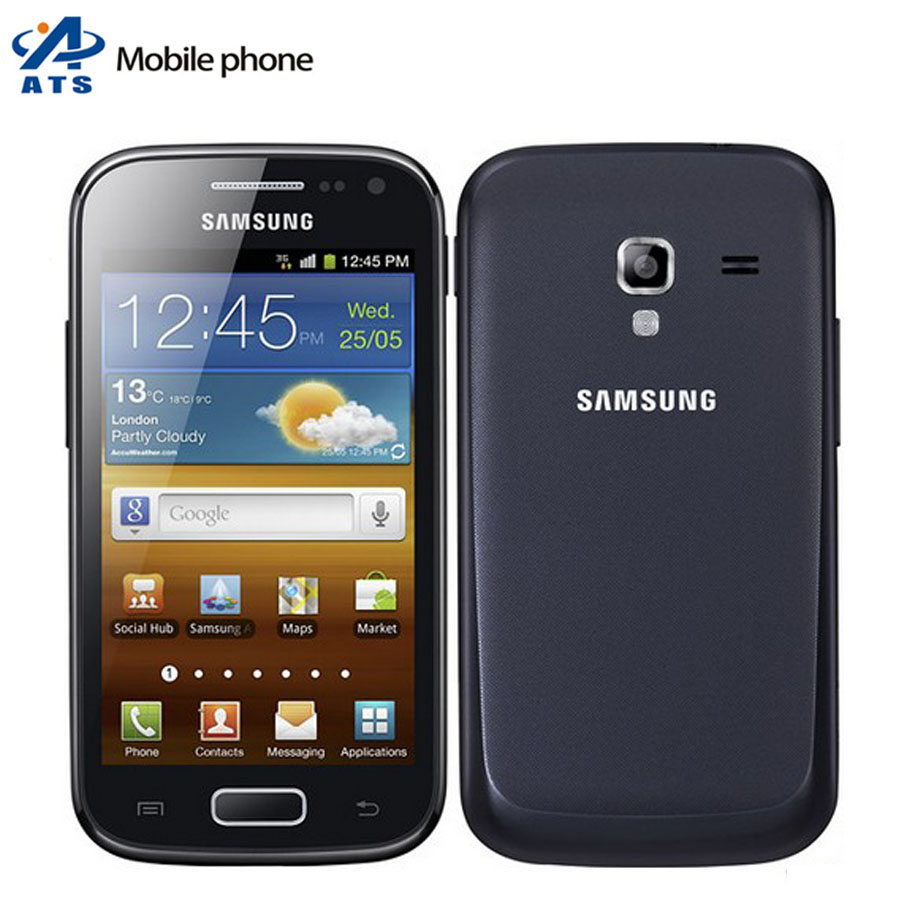 Original Samsung Galaxy Ace 2 i8160 Mobile Phone Android 3G WIFI GPS Dual Core mobile phone Free Shipping(China (Mainland))