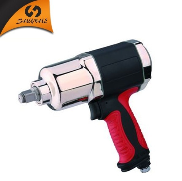 "2014 Hot pneumatic tools twin hammer new type 1/2"" air impact wrench(China (Mainland))"