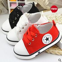 2016 Spirng lona de los niños varón se divierte los zapatos blancos llegó el nuevo bebé niños Sneakers envío gratis(China (Mainland))
