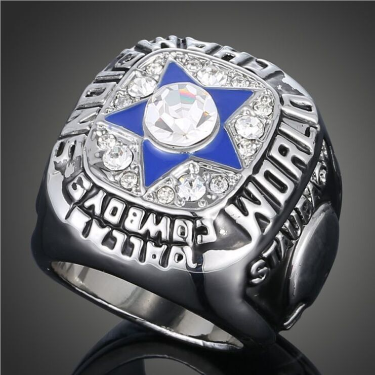 Sports Souvenirs NFL 1971 Dallas Cowboys Super Bowl Champion Ring For Women Vintage Men Jewelry(China (Mainland))