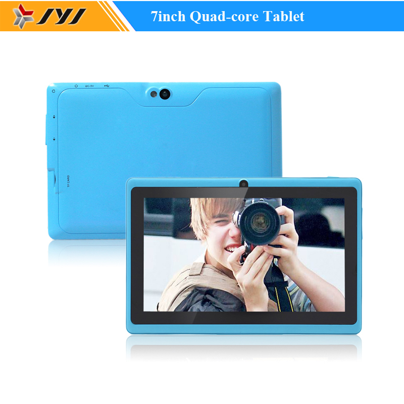 Azure Allwinner A33 Quad Core 7inch Google Android 4.4 Tablets 800*480 8GB Cameras WiFi 1.6GHz Tablet PC(China (Mainland))