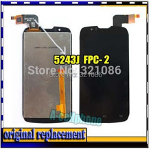 "FPC-2 FPC-3 4.3"" For Pentagram for Mon ster P430-1 / S4502 LCD display screen +digitizer touch glass assembly(China (Mainland))"
