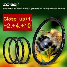 ZOMEI 67MM Close Up Macro Lens Kit +1 +2 +4 +10 for DSLR SLR Digital Camera Hoya