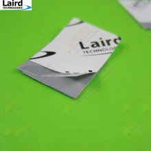 15*15*0.12mm  4.5W/m-k Laird Thermal Phase Change Pad Cooling Silicon Pad Notebook Laptop CPU t-pcm585(China (Mainland))