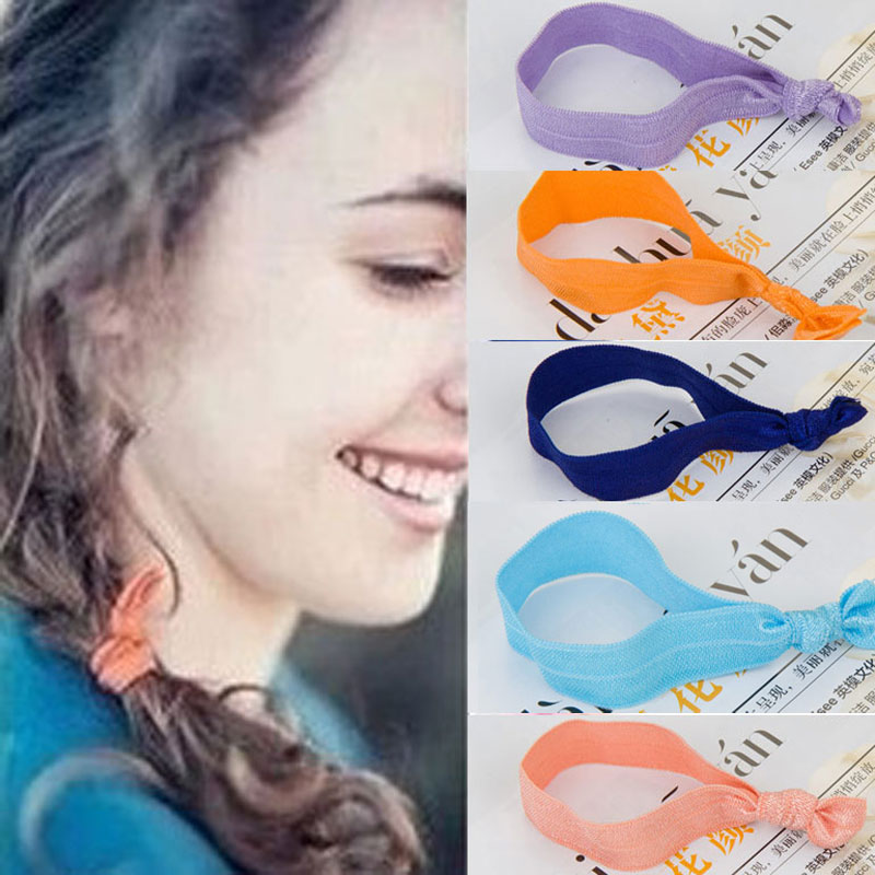All products $1.99 29pcs/lot Fashion hair accessories women girls Candy color hair rope Popular hair bands Nice elastic for hair(China (Mainland))