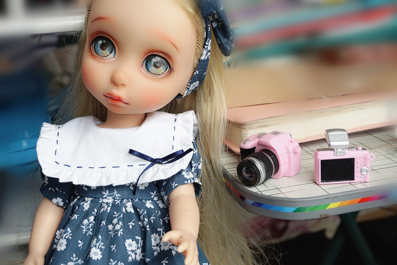 Free transport New Style Doll equipment 1Pc DIY Digicam for BJD Doll 1 / 6 bjd sd pullip,for blythe,Digicam for barbie doll