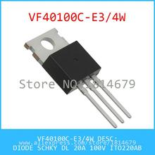 VF40100C-E3/4W DIODE SCHKY DL 20A 100V ITO220AB VF40100C-E3 40100 VF40100 - ABC Elections store