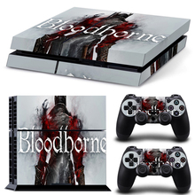 New arrival blood borne skins for ps4 stickers for playstation 4 protective cover