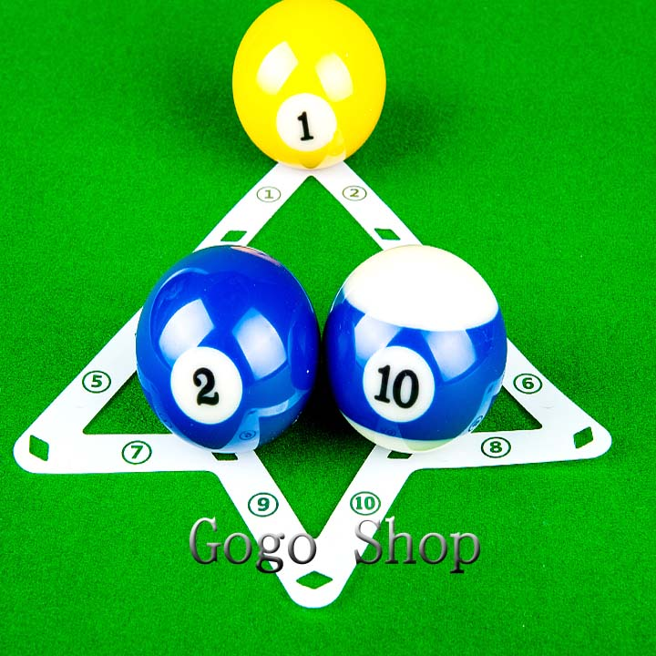 Magic Rack Sheet 6pcs/pack Pool Cue The Greatest Tip Tool 9ball / 10 ball Billiard triangle Cue rack Accessories Free Shipping(China (Mainland))