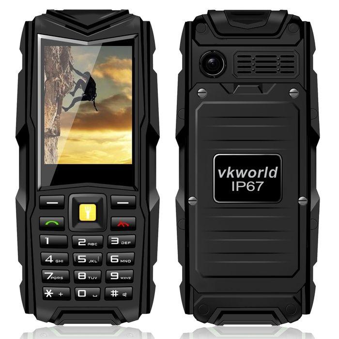 Original VKworld Stone V3 IP67 Waterproof Shockproof Dustproof Mobile Phone Power Bank Long Standby Outdoor Army 5200mAh(China (Mainland))
