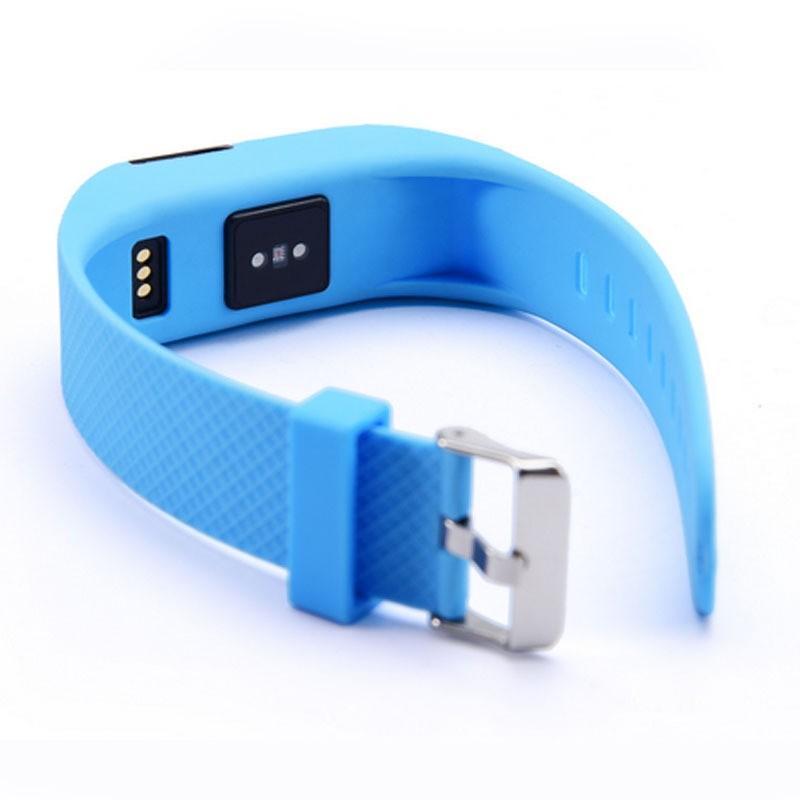 ถูก ใหม่สมาร์ทสร้อยข้อมือHeart rateวัดอัตราการเต้นหัวใจการนอนหลับการตรวจสอบกีฬานาฬิกาสุขภาพpedometer