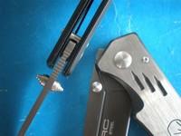 Экстремумы соотношение Геркулес f35 полностью стальной ручкой выжить спасательные ножи складной карманный нож ke11