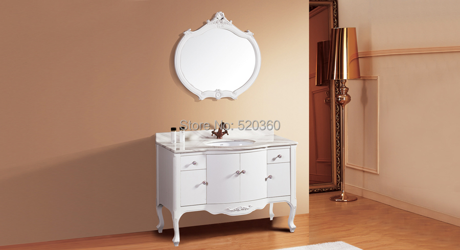 white oak, volakas white marble cabinet and mirror, Bathroom Vanities<br><br>Aliexpress