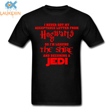 Buy Fashion Never Got Acceptance Letter Hogwart Lotr Jedi Hobbit T Shirt Harajuku Cotton Short Sleeve O Neck Tshirt Men Women for $10.44 in AliExpress store